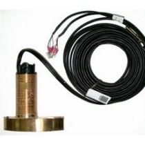 Série ST60/ST70/ST290 : Triducer traversant bronze (câble 13.8m)
