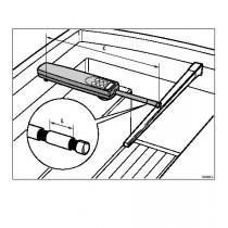 Rallonge de verrin 152mm