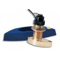 Sonde Triducer traversante bronze Raymarine avec Fairing block B744V