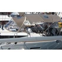 "Toile Bimini ""Sun Odyssey 409"" Millésime 2011 Bleu Navy"