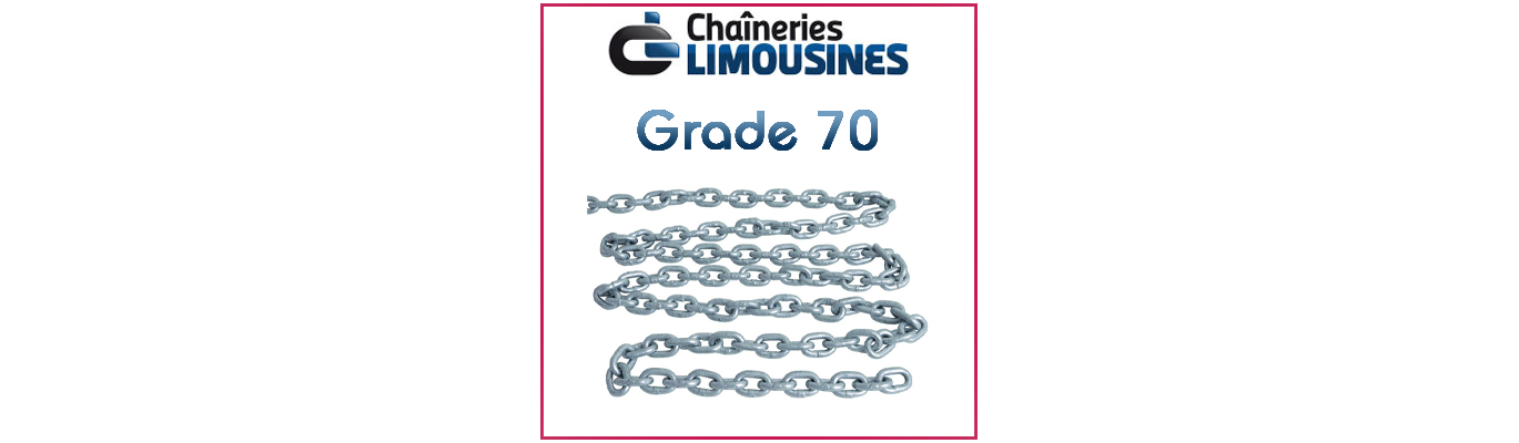 Chaine de mouillage - Mooring chain
