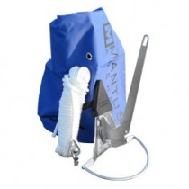 Kit ancre inox, sac, nez de protection et cordage MANTUS ANCHORS - pour annexe et kayak (dinghy)