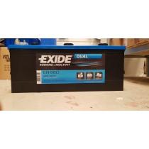 Batterie EXIDE Marine Dual ER660 12V 140amp