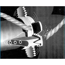 Coupe-Orin STRIPPER pour embase Yanmar avec hélice 2 pales