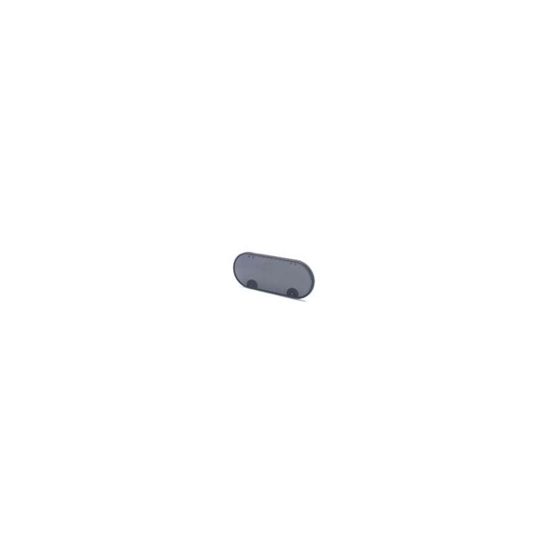 Vitre hublot ovale 352x153x15, teintée