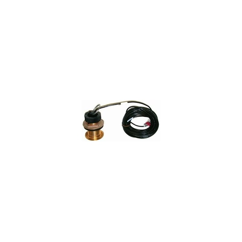 Capteur vitesse/température traversant bronze (câble 13.8m) RAYMARINE