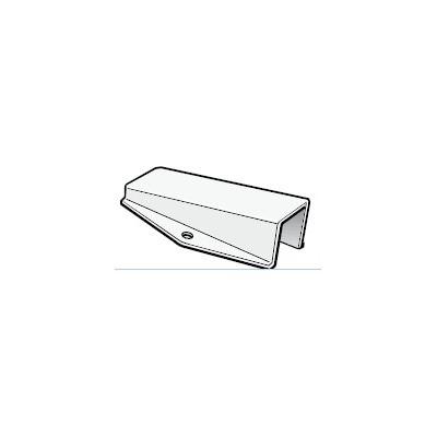 Platine instruments 100x40, pour tête de mât inclinée à 15° Selden