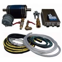 Kit d'installation avec waterlock - Diam circuit refroidissement 12mm - Diam waterlock 40mm