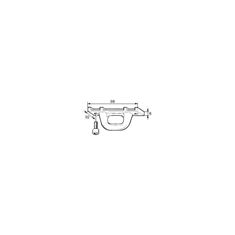 Coulisseau pour bôme 200/117-250/140