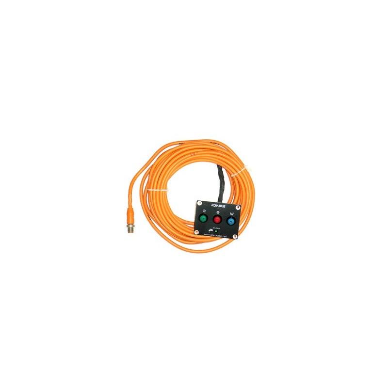 Commande à distance Câble 15m Aqua-Base XD / XA / ESB / ESW / YC / YK