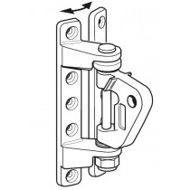 Ferrure de mât universelle SELDEN pour hale-bas rigide