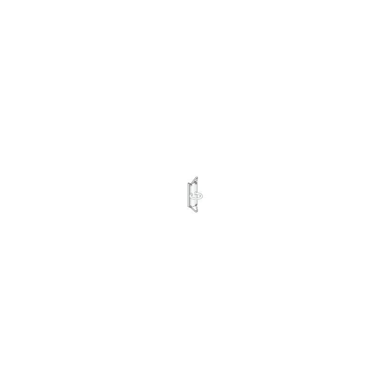 Glissière  RCB 30 avec anneau et oeil, pour réglable en hauteur