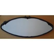Vitre teintée de hublot elliptique 440x175x15, avec joint