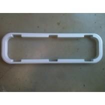 Cadre de finition blanc pour hublot LEWMAR Standard taille 4