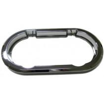 Kit cadre intérieur chromé, pour hublot ovale ouvrant 403x204 ABS