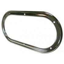 Kit cadre intérieur inox pour hublot ovale fixe 403x204