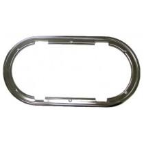 Kit cadre intérieur en acier inoxydable pour hublot ovale ouvrant 403x204