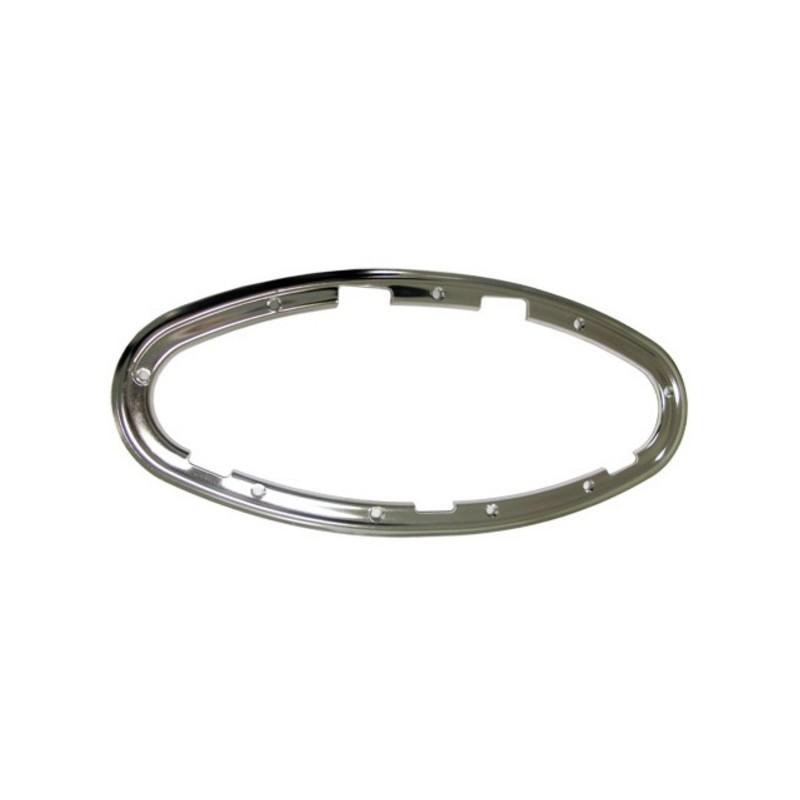 Kit cadre intérieur inox pour hublot elliptique ouvrant  450x195