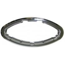 Kit cadre intérieur chromé pour hublot elliptique ouvrant 485x225