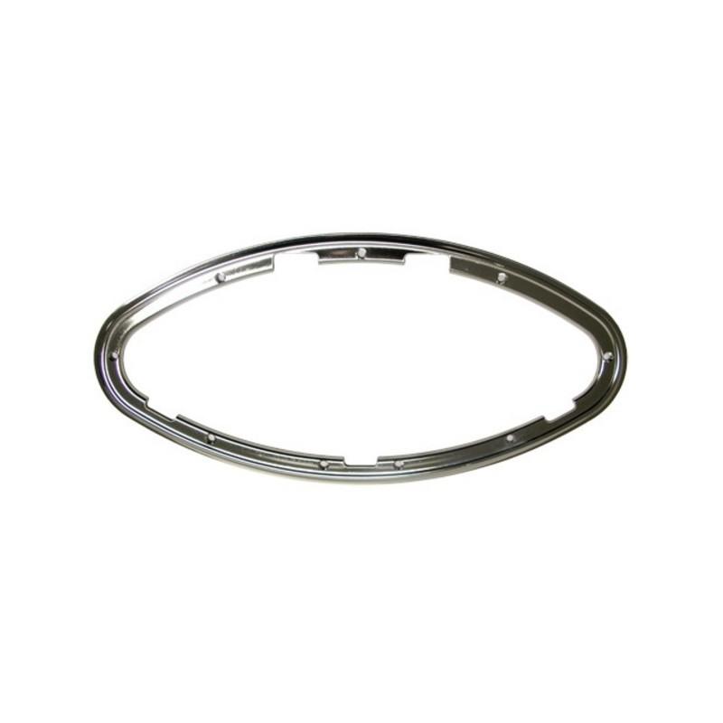 Kit cadre intérieur inox pour hublot elliptique ouvrant  485x225