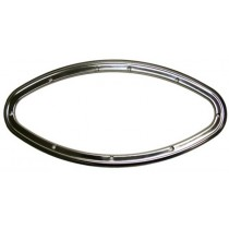 Kit cadre intérieur inox pour hublot elliptique fixe elliptique  485x225