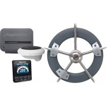 Pack évolution Wheel Pilote avec boitier de commande p70s, ACU100 & Wheel drive Raymarine