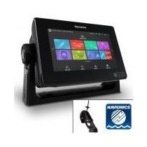 Ecran tactile AXIOM 7 RAYMARINE - Sondeur Downvision avec sonde CPT-S et cartes