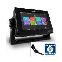 Ecran tactile AXIOM 7 RAYMARINE - Sondeur Downvision avec sonde CPT-100DVS et cartes