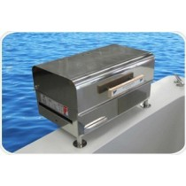 stainless steel barbecue for boat   - Plancha / Grill Sovereign bbq