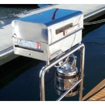 stainless steel gas barbecue -  Plancha / Grill Sovereign BBQ'S