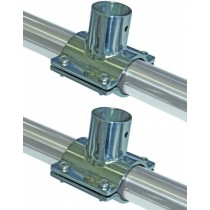 Stainless steel Rail mount - support pour rail inox 316 -  Sovereign BBQ's