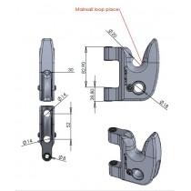 Mainsail hook system Karver KMS