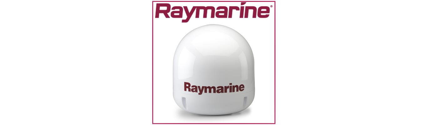 Antennes TV par satellite - TV and  satellite antennas by Raymarine