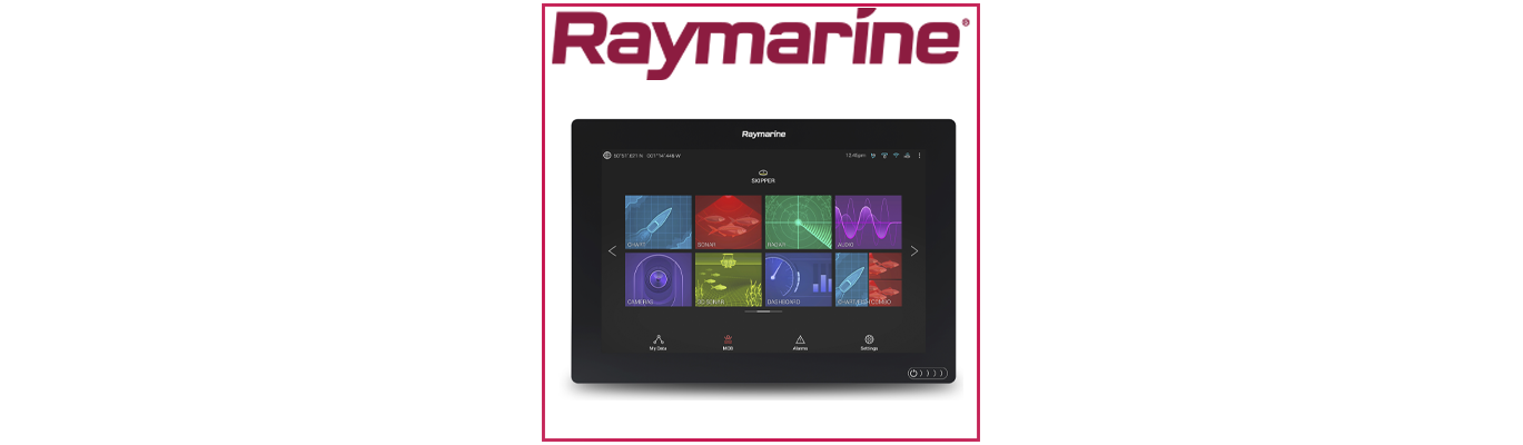 Ecrans multifonctions - Multifunctions screens by Raymarine