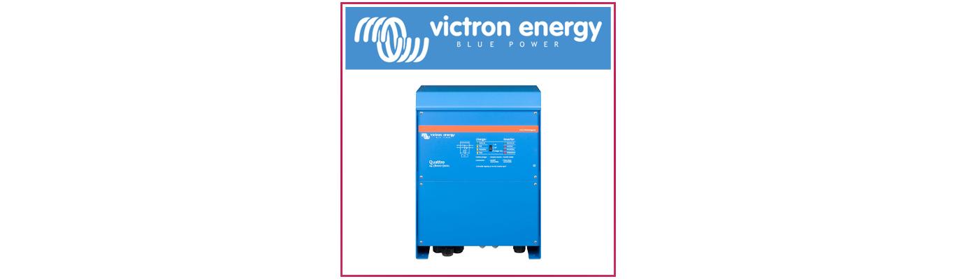 Equipement électrique sur votre bateau: Victron Energy