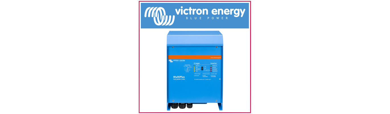 Chargeurs Convertisseurs Victron Energy