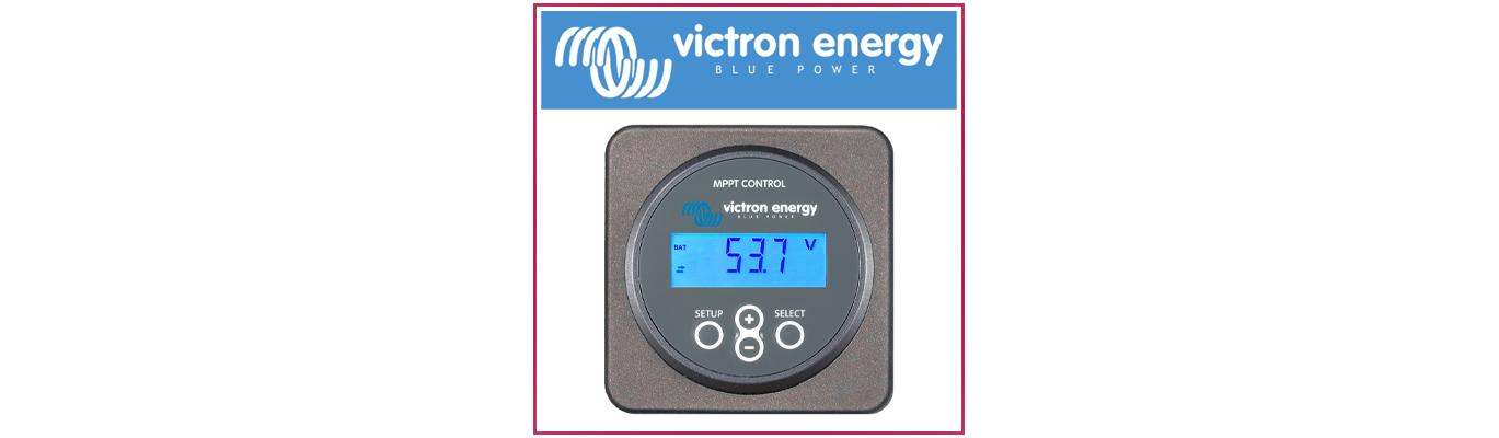 Panneaux de contrôle et câbles VICTRON Energy