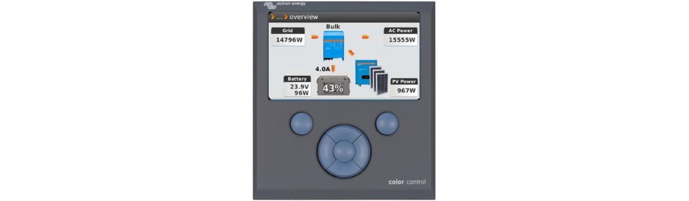 Tableaux de contrôle Victron Energy