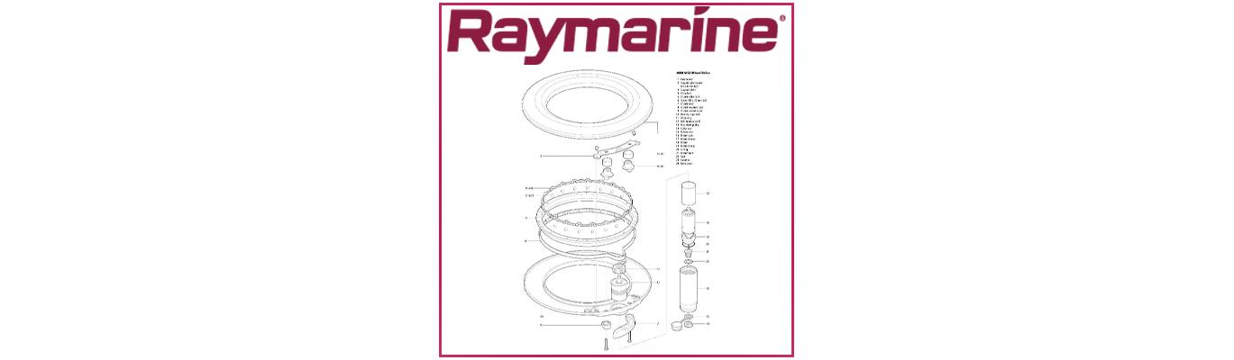 PIèces détachées pilotes de cockpit Raymarine