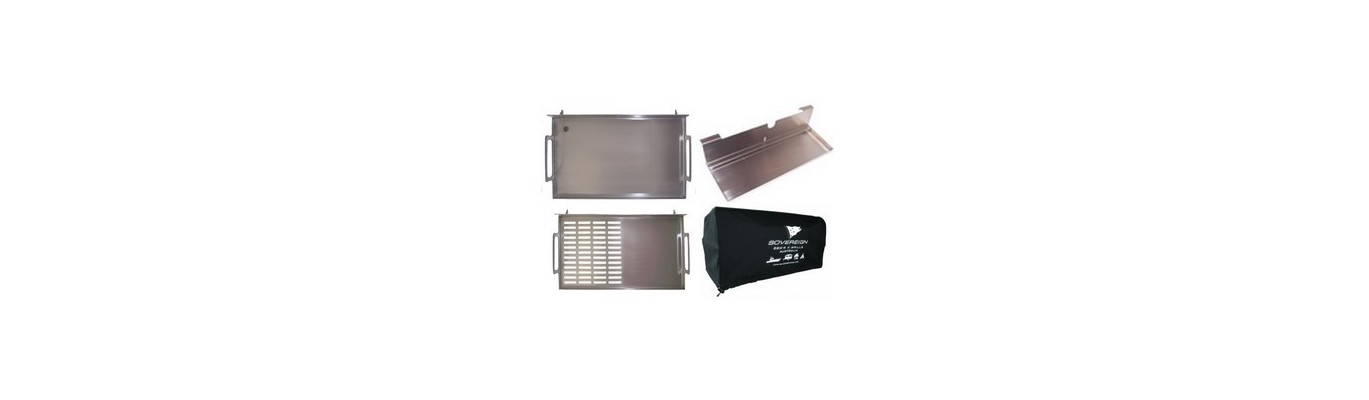 Accessoires pour votre barbecue en inox 316 - Accessories for your 316 stainless steel barbecue