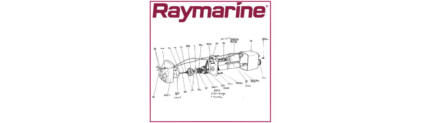 Pièces détachées pilote inboard Raymarine