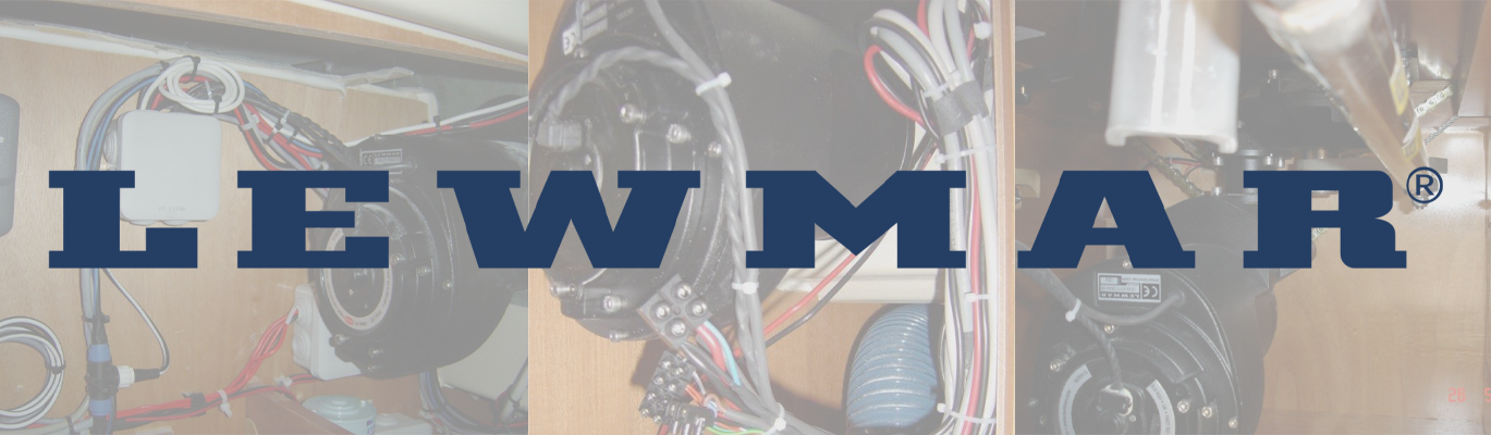 Moteurs rotatifs Lewmar - Rotary motors