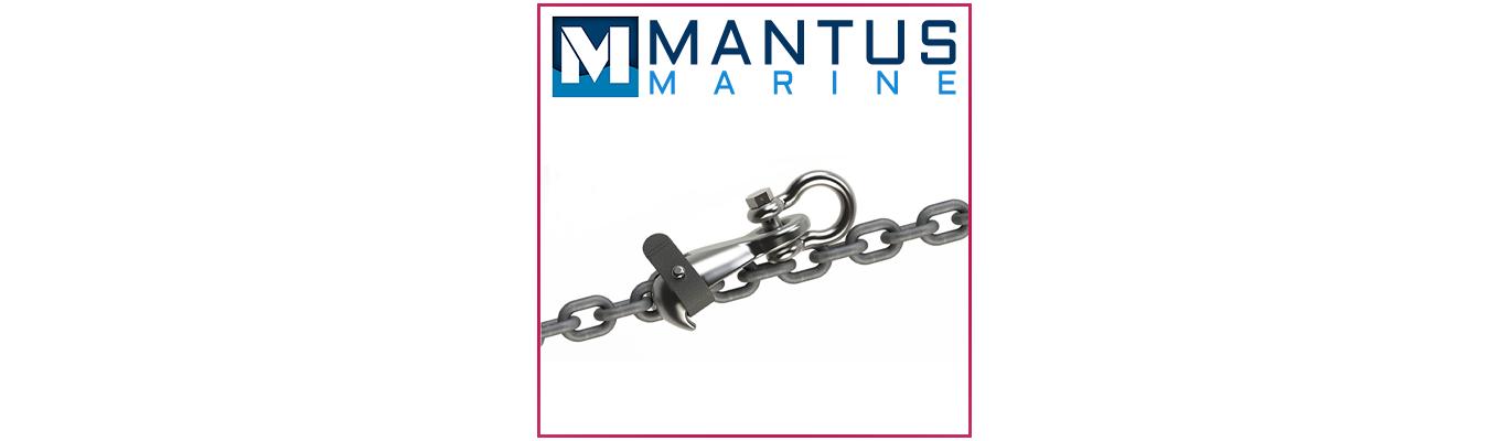Main de fer Mantus Anchors -  Chain Hook Mantus Anchors