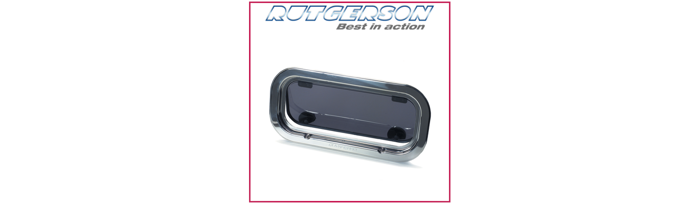 Hublots rectangulaires 402x195mm RUTGERSON