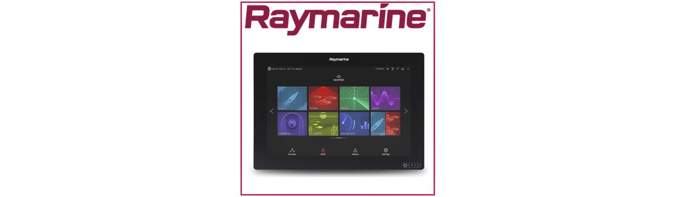Les nouveaux écrans multifonctions Raymarine: Axiom