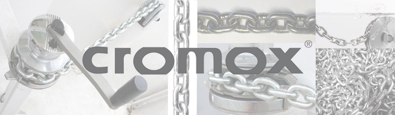 Chaîne CROMOX inox 318 Grade 60 plus Haute résistance - Cromox stainless steel chain 318 Grad 60 plus, High strengh