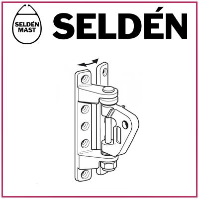 """Ferrures de mât pour """"Rodkicker"""" SELDEN"""